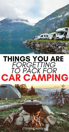 50 Essentials for Car Camping: Checklist & Packing List For Car Camping - Eternal Arrival