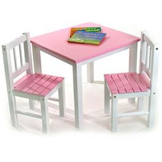 This Childrenu0027s Wooden Table and Chairs provides your kids with a great place to do homework  sc 1 st  Pinterest & Magic Garden Table and Chair Set | chairs for charity | Pinterest ...