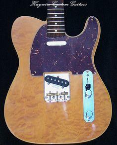 Haywire Custom Guitars-Tony Tele1 | www.haywirecustomguitars… | Flickr Guitar Body, Custom Guitars