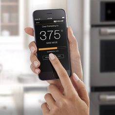 {TRENDING TECH} at #Monark: @jennairusa's Wall Oven Wireless Connectivity. These appliances have an #iOS & #Android #application that gives you the ability to control your oven's functions at the tip of your finger. The best part? Have your #oven