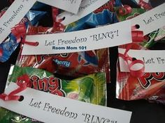 Fun 4th of July party favor!