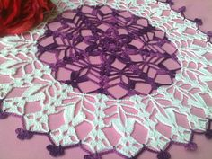 Crochet Doily Crochet Doilies Round Lace Doily by CrochetMiracles, $21.90