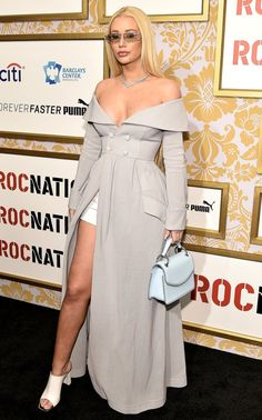 Grammys 2018 Best Dressed at the Afterparties and Preparties - Iggy Azalea Iggy Azalea, Star Fashion, Fashion Outfits, Fashion Tips, Fashion Clothes, High Fashion, Celebrity Outfits, Celebrity Style, Modest Outfits