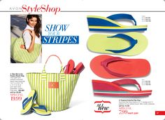 """Tropical Colorful Flip-Flop 