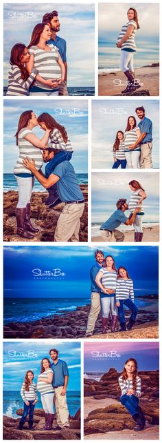 A beautiful family maternity session on a Florida beach during sunset. Love the moody blues. All images belong to ShutterBee Photography. #ShutterBeePhotography #FamilyPhotos #Beach #Sunset #Maternity #PhotoShoot #Portraits #FloridaBeach #FloridaSunset