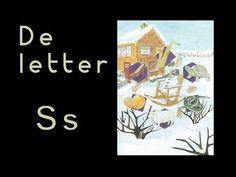 abcKRINGBOEKJE De letter S - YouTube Letter School, S Youtube, Letter Of The Week, Learning The Alphabet, Biro, Spelling, Preschool, Education, Stage