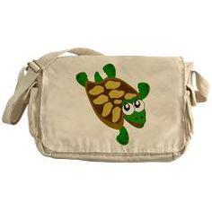 #Turtle #Messenger #Bag