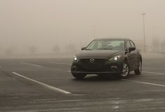 All sizes | Mazda3 in fog | Flickr - Photo Sharing!