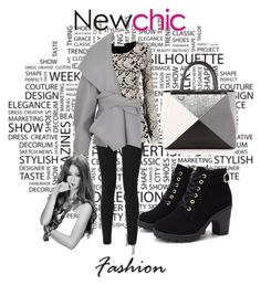 """""""Newchic 23"""" by dinka1-749 ❤ liked on Polyvore featuring Balmain and Fendi"""