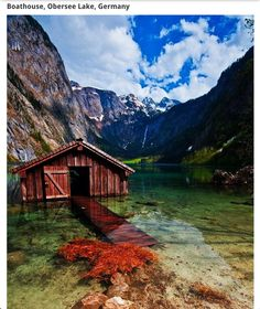 German boathouse
