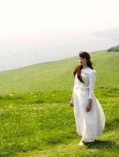 Gemma Arterton as Tess Durbeyfield inTess of the D'Urbervilles (TV Mini-Series, 2008).
