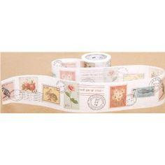 breites mt Washi Masking Tape Klebeband mit Briefmarken