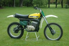 1976 Puch 400.One of only 8 made. Six time World Champion, Joel Robert rode his last professional race in 1976 on this bike.