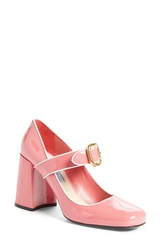 Prada Mary Jane Pump (Women) available at #Nordstrom