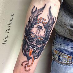 Black Swan Tattoo, Ambigram Tattoo, Double Sens, Yin Yang Tattoos, Demon Art, Samurai Tattoo, Tattoo Inspiration, Cool Tattoos, Old School