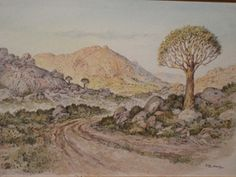 PAINTINGS QUIVER TREES - Google Search
