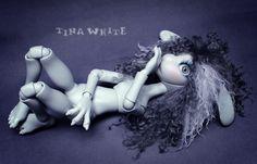 "BJD Zaia beautiful wig   par collection ""Call me doll"""