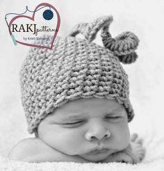 FREE CROCHET PATTERN, www.RAKJpatterns.com, baby hat pattern, crochet pattern
