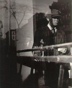 Lisette Model - Reflection, New York (Delancey Street) - 1940-1950