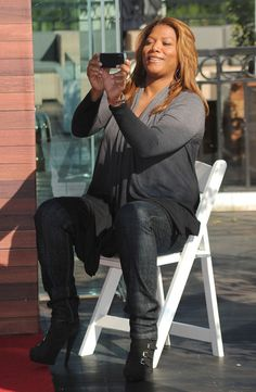 Actress Queen Latifa attends the People's Choice Awards 2011 Press Conference on November 9, 2010 in West Hollywood, California.