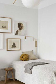 Эта умиротворенная квартира под названием «Slow Living», расположенная в Стокгольме, Швеция, была спроектирована дизайнером Josefin Haag
