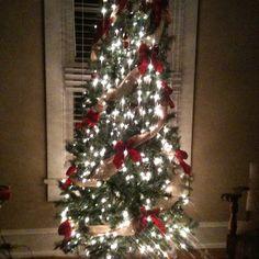 My elegant country christmas tree. 2012
