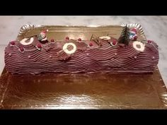 La bûche de Noël traditionnelle au chocolat - Apprendre la pâtisserie - YouTube