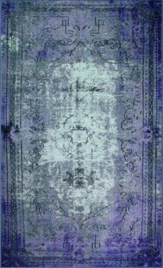 Rugs USA Winsdor Elmas Overdyed Purple Rug