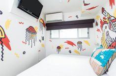 Minima Hotel Art Room by Pennant , via Behance