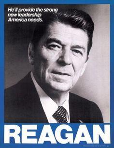 1980 Ronald Reagan campaign Poster -Miss him a lot!