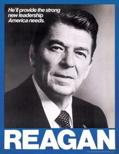 Ronald Reagan 1980.