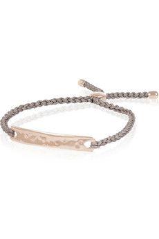 Monica Vinader Havana rose gold-plated bracelet | NET-A-PORTER