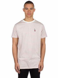 c6fa8837 Buy Wemoto Shake Stripe Jersey Embroidered T-Shirt online