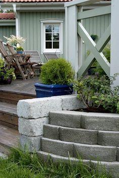 Utemiljøgrossisten as Hagemur AWS Windsor, Patio, Outdoor Decor, Plants, Home Decor, Wall, Homemade Home Decor, Yard, Terrace