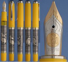 Pelikan Toledo Yellow fountain pen