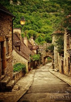 France Photography Dordogne, Fine Art Travel Photo, Signed Art Print, Town  of Rocamadour - A Long Time Ago (in THIS galaxy) e2a5b27a03ff