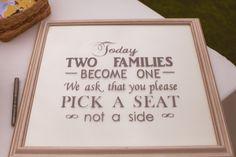 Lovely Phrasing Seating Plan