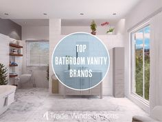 Here you will find a list of the best bathroom vanity brands based upon materials, aesthetics, and build quality. Virtu USA, Silkroad Exclusive, JWH & more! Small Bathroom Vanities, Large Bathrooms, Amazing Bathrooms, Master Bathroom, Bathroom Ideas, Aesthetics, Vanity, Usa, Interior