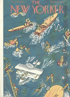 The New Yorker - Saturday, August 30, 1930 - Issue # 289 - Vol. 6 - N° 28 - Cover by : Julian de Miskey