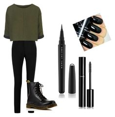 """""""CeO"""" by akaelif on Polyvore featuring Yves Saint Laurent, Topshop, Dr. Martens, Marc Jacobs, Chanel, women's clothing, women, female, woman and misses"""