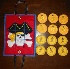 In The Hoop Pirate Tic Tac Tote Embroidery by NewfoundApplique, $4.49