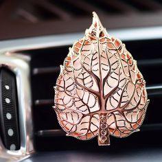 Leaf locket essential oil car diffuser car accessories