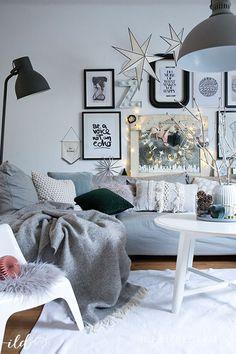 Skandinavische Weihnachtsdeko Im Wohnzimmer   Jetzt Wird´s Hyggelig