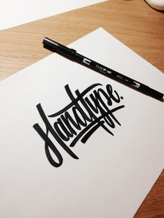 Typeverything.com - Lettering by Andy Lethbridge.