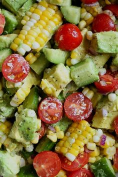 Dieser Mais-Tomaten-Avocado-Salat ist Sommer in einer Schüssel! Die perfekte Beilage mit This Corn Tomato Avocado Salad is summer in a bowl! The perfect side dish with a. Dieser Mais-Tomaten-Avocado-Salat ist Sommer in einer Schüssel! Avocado Tomato Salad, Avocado Toast, Cucumber Salad, Broccoli Salad, Cabbage Salad, Shrimp Salad, Egg Salad, Quinoa Salad, Avacodo Salad