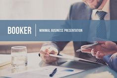 Booker - Business Presentation by Tugcu Design Co. on @creativemarket