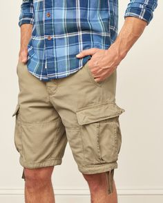 ba9bf139774e Mens Cargo Shorts   Mens Bottoms   Abercrombie.com Mens Cargo Shorts,  Casual Styles