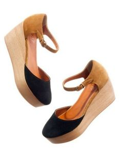 madewell the two-tone flatstack platform, $178