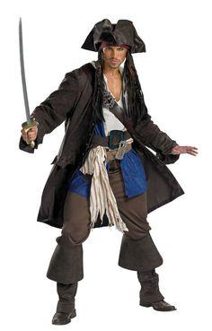 Jack Sparrow Pirate Costume 5626 Halloween Costumes