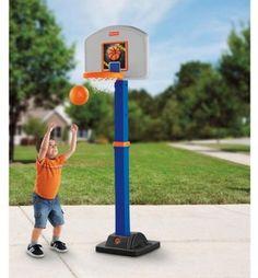 Fisher-Price Grow 2 Pro Basketball Goal for Kids  #FisherPrice